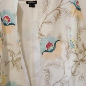 Paperwhite Jackets & Coats - Paperwhite jacket, embroidered, Size 14